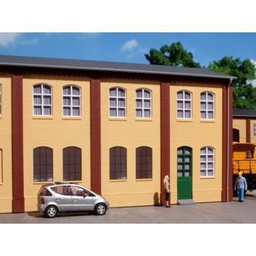 Auhagen 80606 Wände 2323A und Wände 2323B gelb