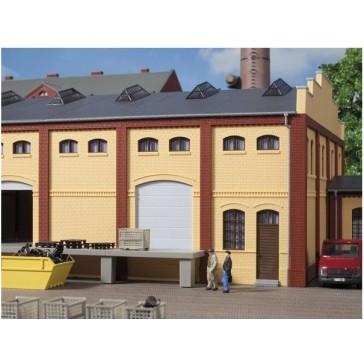Auhagen 80620 Wand 2410A, Wände 2410B und Wände 2410D gelb