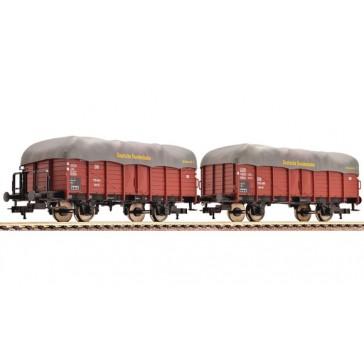 Fleischmann 521607 2-teiliges Set Güterwagen