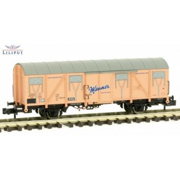 Liliput 265033 Ged. Güterwagen, Gos 245, Manner, DB AG, Ep.V