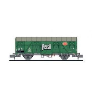 Liliput 265037 Ged. Güterwagen, Glmhs, 205 512, Persil, DB, Ep.III