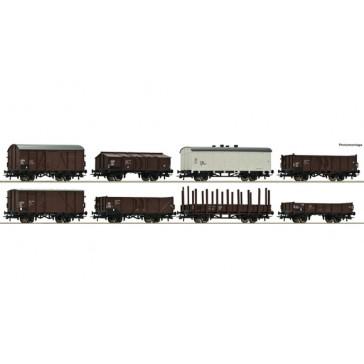 Roco 44001 Set: Güterwagen, CSD epoche 3