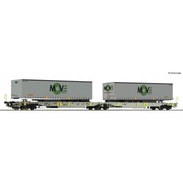 Roco 67404 Doppeltwagen T2000 AAE+Move