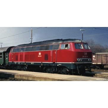Roco 72182 Diesellok BR 215 rot Sound