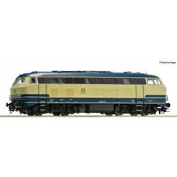Roco 73727 Diesel BR 218 oz-bl Sound