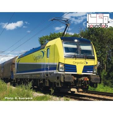 Roco 73924 E-Lok Rh 1193 Cargos. Sound