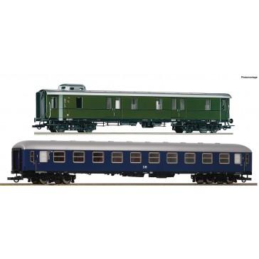 Roco 74098 2er Set Schnellzugwagen DB