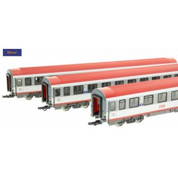 Roco 74132 3-tlg. Set Regionalexpress Innsbruck-Bozen, ÖBB epoche 6