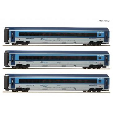 Roco 74139 3er Set Railjet CD DC