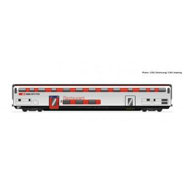 Roco 74497 Doppelstockwagen IC 2020 WRB