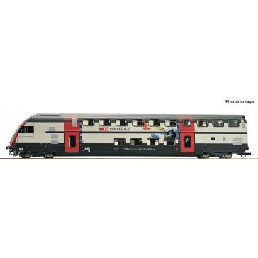 Roco 74505 Doppelstock Stwagen IC-2000