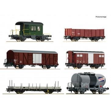 Roco 76051 6er Set Gz Gotthard SBB