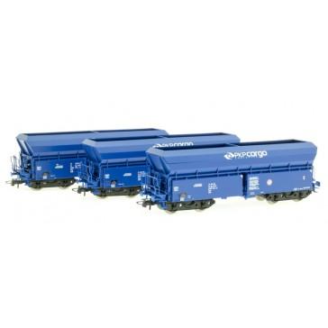Roco 76078 3er Set Selbstentladewagen PKP
