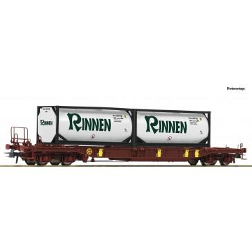 Roco 76225 Taschenwagen T3 AAE+Rinnen