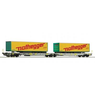 Roco 76433 Gelenktaschenwagen Nothegger , AAE epoche 6