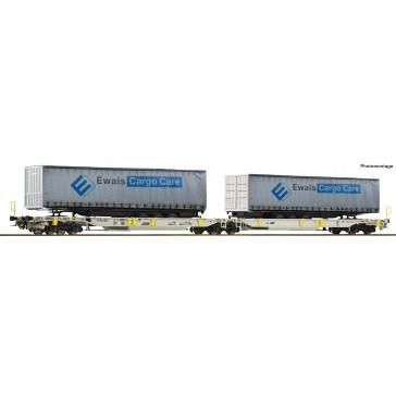 Roco 76437 Doppeltwagen T2000+Ewals