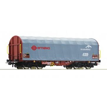 Roco 76447 Schiebeplanenwagen Ermewa
