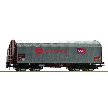 Roco 76450 Schiebeplanenwagen SNCF Logistics