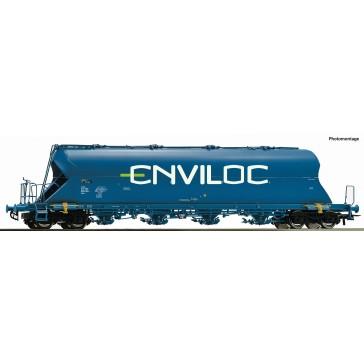 Roco 76706 Staubsilowagen Uacs blau