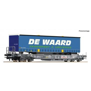Roco 76754 EH Taschenwagen + De Waard