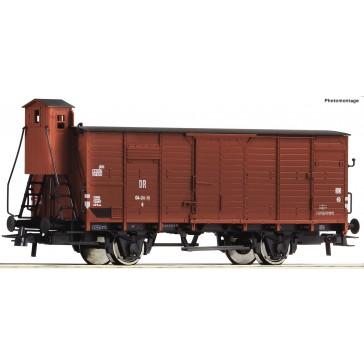 Roco 76853 Ged. Güterwagen DR mit BH