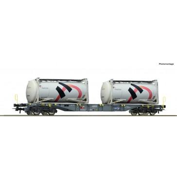 Roco 76943 Cont.Tragwagen+Holcim Tankcont.