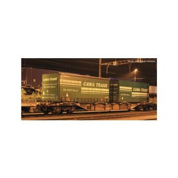 Roco 76949 Cont.TragwagenSBB+Cawa Trans