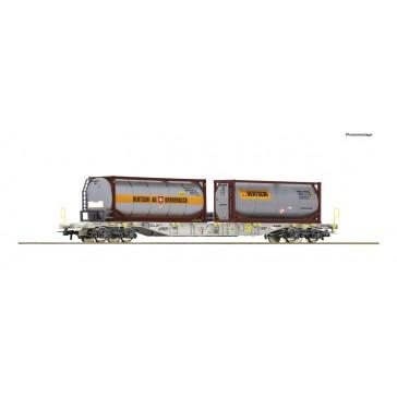 Roco 77340 Container Tragwagen AAE+Bertschi