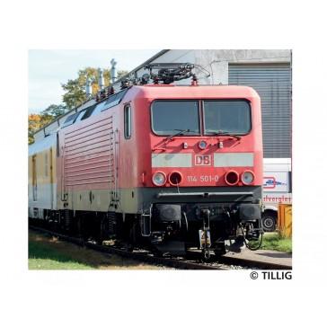 Tillig 02352 Elektrolokomotive 114 501-0 der DB Systemtechnik, Ep. VI
