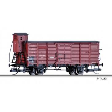 Tillig 17930 Gedeckter Güterwagen Gn der Eutin-Lübecker Eisenbahn, Ep. II