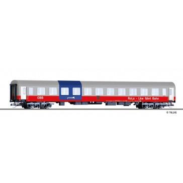 Tillig 502125 RoLa-Begleitwagen Bcm, Bauart Halberstadt, der ÖBB, Ep. V