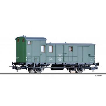 Tillig 76758 Bahndienst-Werkstattwagen der DR, Ep. IV