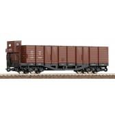 Roco 34537 Off.Güterwagen  H0e, braun