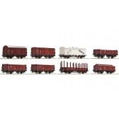Roco 44003 Güterwagenset DR 8 St.