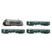 Roco 61451 Zugset:E-Lok El18 DC Schnellzu