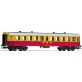 Roco 64356 Reisezugwagen 2.Kl. gelb/rot #1