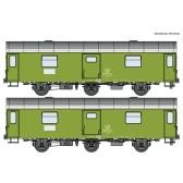 Roco 74111 2er Set Reko Postwagen DR