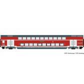 Roco 74154 Doppelstockwagen DB-AG