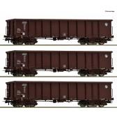 Roco 76091 3er Set Eanos HZ Cargo