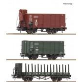 Roco 76094 Güterwagenset K.Bay.Sts.B.