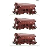 Roco 76179 3er Set Güterwagen Tds SNCB