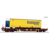 Roco 76223 Taschenwagen T3 AAE+Transped