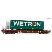 Roco 76232 Taschenwagen T3 AAE+Wetron