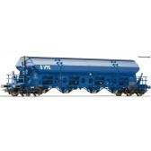 Roco 76401 Schwenkdachwagen 4a. VTG blau