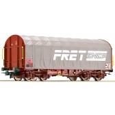 Roco 76443 Schiebeplanenwagen  FRET