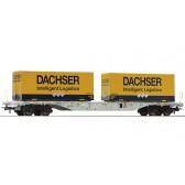 Roco 76921 Containertragwagen Dachser