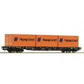 Roco 76930 Containertragwagen ÖBB 3x20'