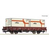 Roco 76962 Rungenwagen 2a.+ Container