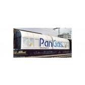 Roco 77493 Schiebewandwagen Pangas