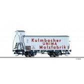 Tillig 17391 Kühlwagen UNIMA-Malzfabrik Kulmbach, eingestellt bei der DB, Ep. III
